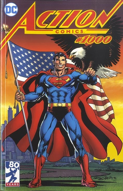 (DC) Cover for Action Comics #1000 Legends Comics and Games Exclusive Neal Adams Variant