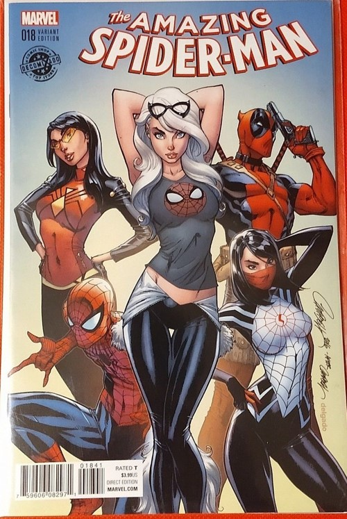 (Marvel) Cover for Champions #1 Decomixado Exclusive Color Variant by J. Scott Campbell