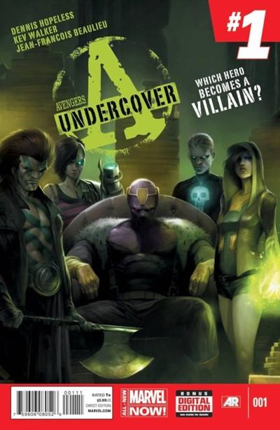 (Marvel) Cover for Avengers Undercover #1