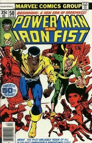 (Marvel) Cover for Power Man #50 1st Powerman & Iron Fist in Own Title