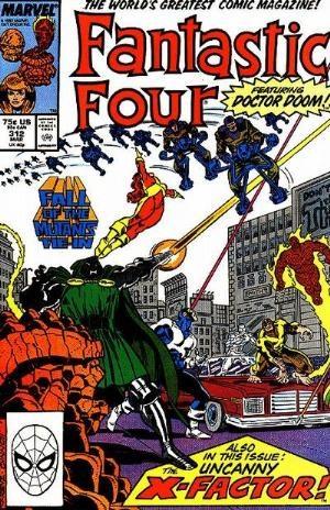 (Marvel) Cover for Fantastic Four #312