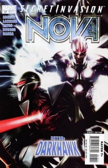 (Marvel) Cover for Nova #17 Secret Invasion Tie-In