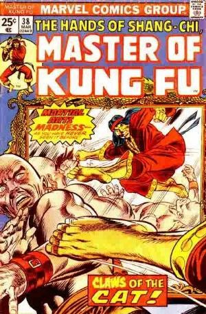 Comic Cover for Master Of Kung Fu (#38)