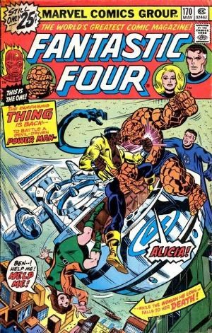 Comic Cover for Fantastic Four (#170)