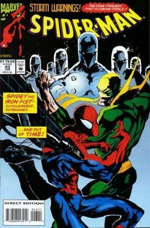(Marvel) Cover for Spider-Man #43