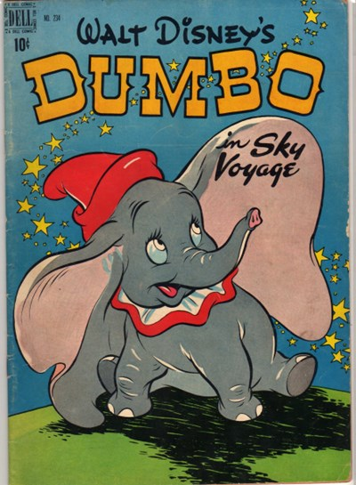 Comic Cover for Dumbo (Four Color) (#234)