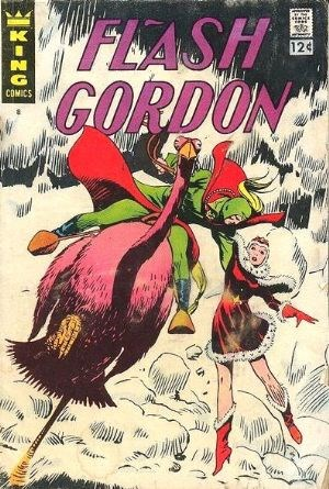 (King Features) Cover for Flash Gordon #8