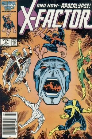 Comic Cover for X-Factor (#6)