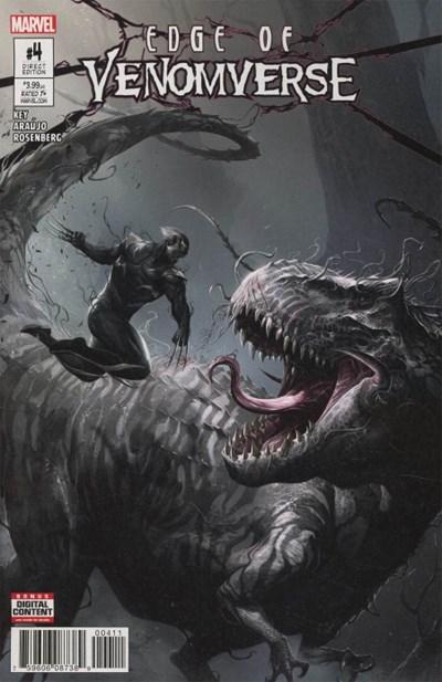 (Marvel) Cover for Edge Of Venomverse #4