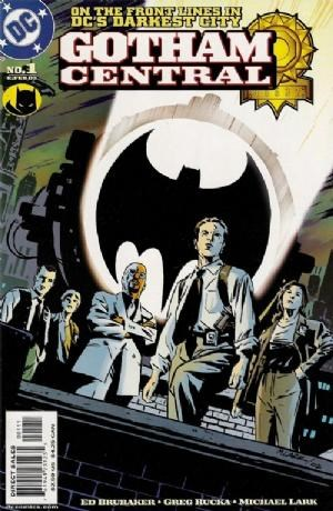 (DC) Cover for Gotham Central #1 Television show in development according to USA Today and Hollywood Reporter