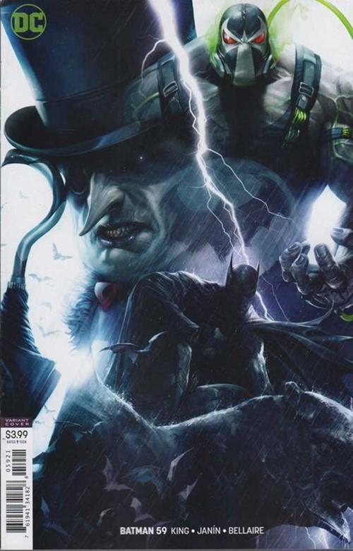 (DC) Cover for Batman #59 Francesco Mattina Variant Cover