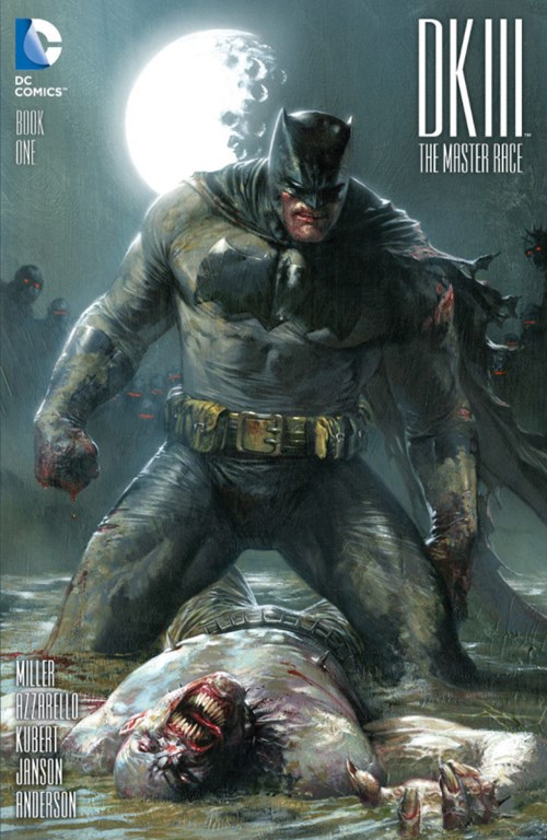 (DC) Cover for Dark Knight Iii: The Master Race #1 Bulletproof Comics and Games Exclusive Variant by Gabriele Dell'Otto