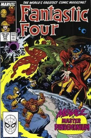 (Marvel) Cover for Fantastic Four #315