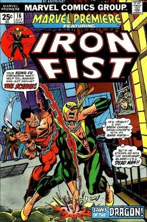 Comic Cover for Marvel Premiere (#16)