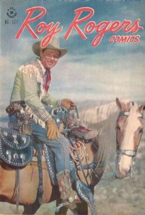 Comic Cover for Roy Rogers Comics (Four Color) (#177)