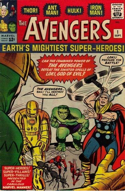 Comic Cover for Avengers (#1)