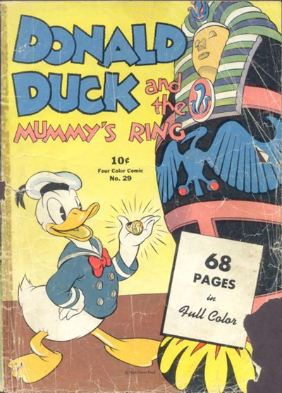 Comic Cover for Donald Duck (Four Color) (#29)
