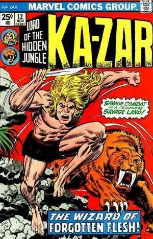Comic Cover for Ka-Zar (#12)