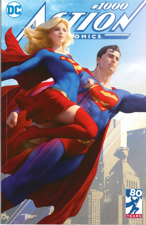 (DC) Cover for Action Comics #1000 Buy Me Toys Exclusive Stanley Artgerm Lau Variant Cover