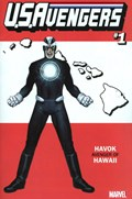 U.S.AVENGERS #1Q  Variant Cover Rod Reis Hawaii State Variant Cover