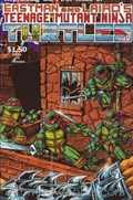 TEENAGE MUTANT NINJA TURTLES #1-4th Print