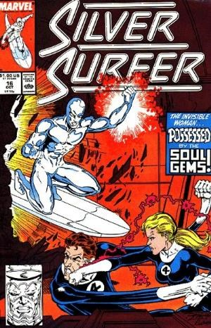 (Marvel) Cover for Silver Surfer #16 Direct Edition