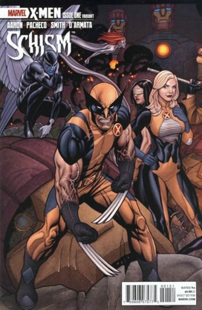 (Marvel) Cover for X-Men: Schism #1 Frank Cho Variant Cover