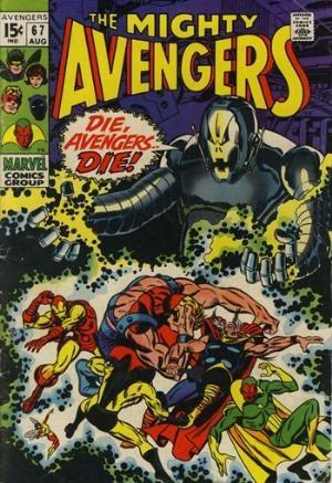 (Marvel) Cover for Avengers, The #67 1st Full Ultron-6 Appearance