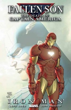 (Marvel) Cover for Fallen Son: The Death Of Captain America #5 Iron Man (Michael Turner Cover)