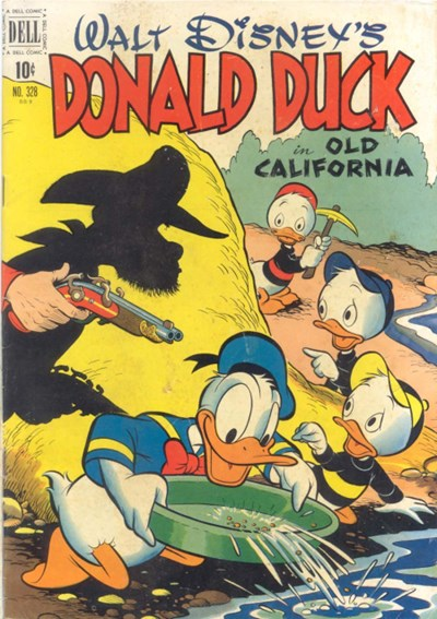 (Dell) Cover for Donald Duck #328 Art by Carl Barks