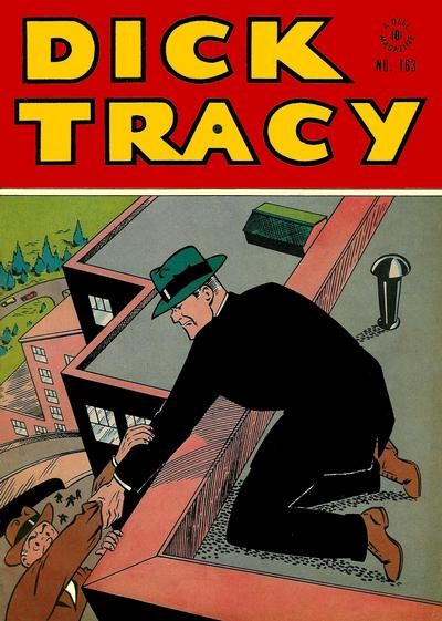 Comic Cover for Dick Tracy (Four-Color) (#163)