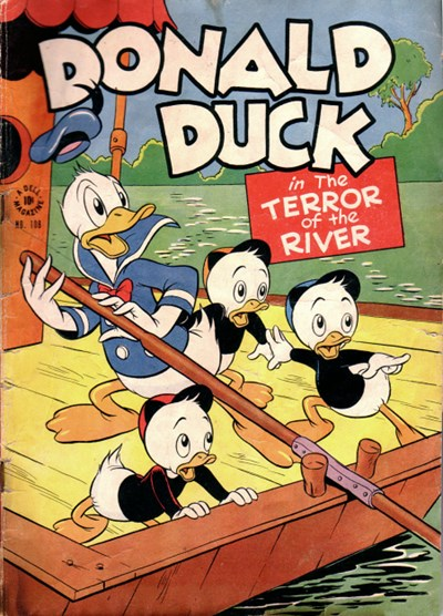 Comic Cover for Donald Duck (Four Color) (#108)