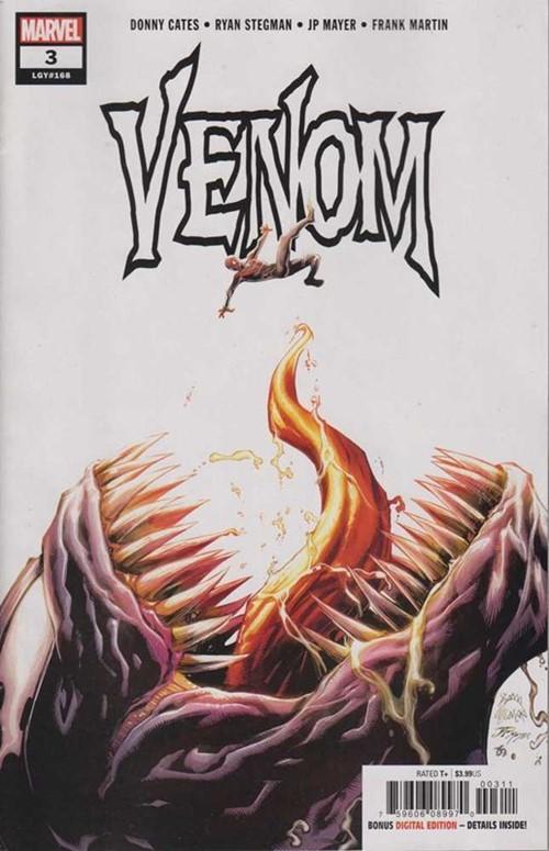 (Marvel) Cover for Venom #3 1st Full Appearance of Knull - For Cameo see Thor: God of Thunder #6