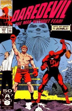 Comic Cover for Daredevil (#289)