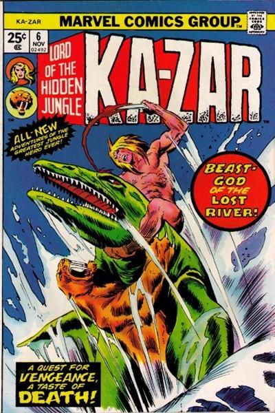 Comic Cover for Ka-Zar (#6)