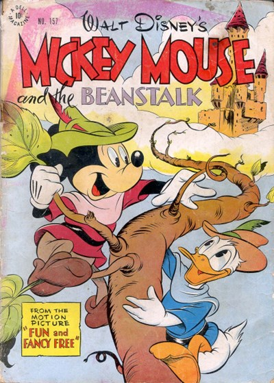 Comic Cover for Mickey Mouse (Four-Color) (#157)