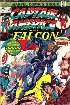 Comic Cover for Captain America (#180)