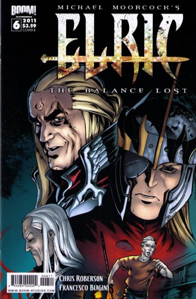 (Boom! Studios) Cover for Elric: The Balance Lost #6 Cover B by Dimitri Armand