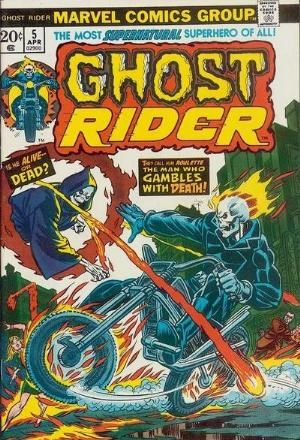 Comic Cover for Ghost Rider (#5)