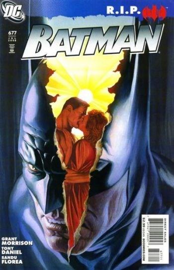 (DC) Cover for Batman #677 Batman R.I.P.