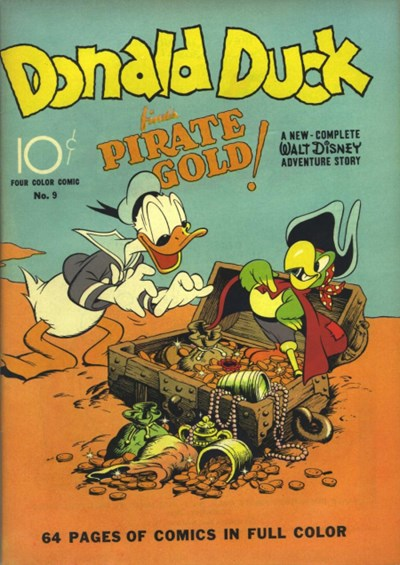 Comic Cover for Donald Duck (Four Color) (#9)