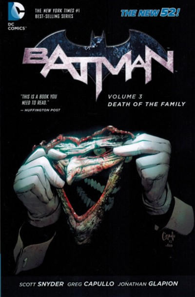 (DC) Cover for Batman #3 Death Of The Family (Collects issues 13-17)