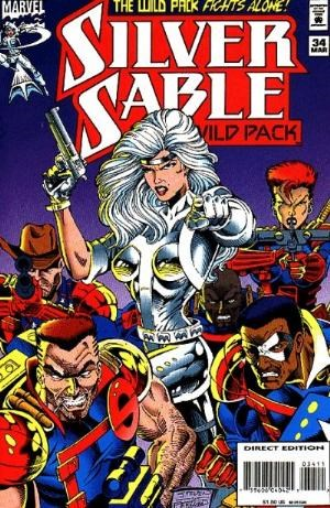 Comic Cover for Silver Sable (#34)