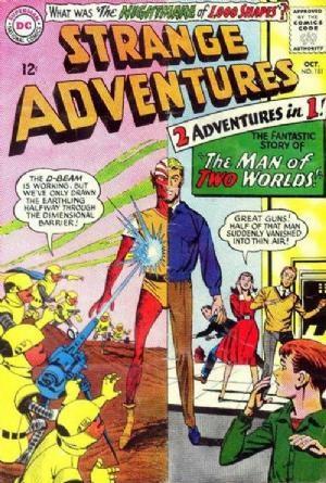 (DC) Cover for Strange Adventures #181