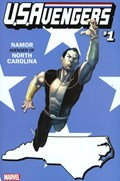 U.S.AVENGERS #1MM  Variant Cover Rod Reis North Carolina State Variant Cover