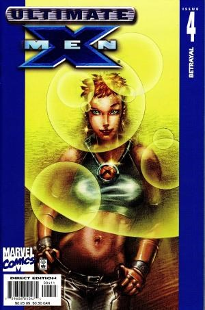 (Ultimate Marvel) Cover for Ultimate X-Men #4