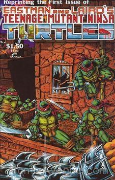 (Mirage Studios) Cover for Teenage Mutant Ninja Turtles #1 4th Print