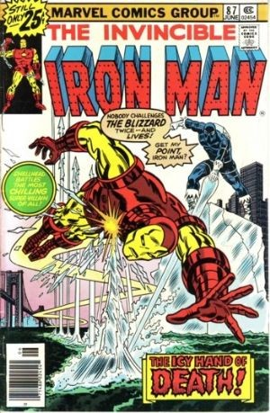 Comic Cover for Iron Man (#87)