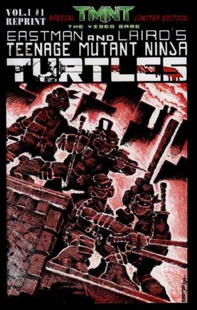 (Mirage Studios) Cover for Teenage Mutant Ninja Turtles #1 Video Game Edition (2007)