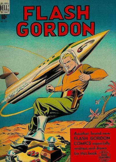 (Dell) Cover for Flash Gordon (Four-Color) #204